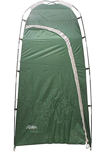 Andes - Dusch- & Toilettenzelt zum Camping - Tragbar