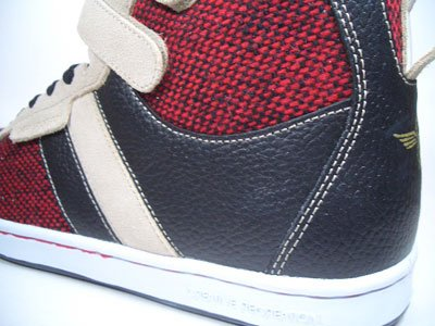 Creative Recreation Dicoco Mid V cr3949 NERO/ROSSO/BEIGE, taglia 42/US 9/UK 8/27 cm