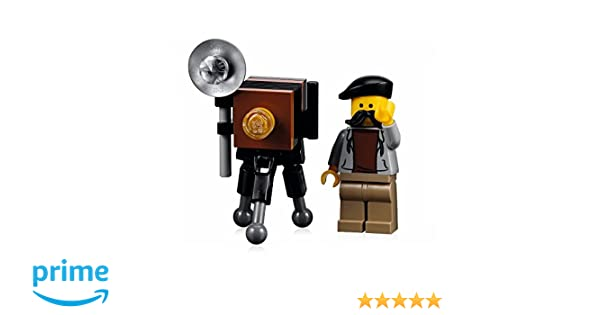 Lego Minifig Camera : Amazon.com: lego city minifigure: photographer with camera tripod