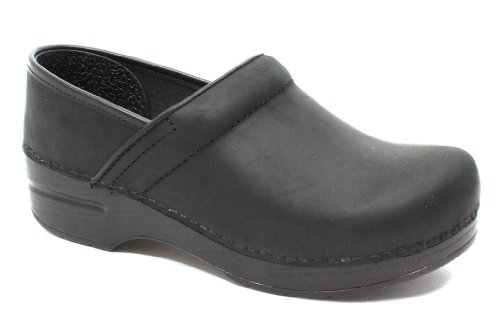Dansko Women's Professional Shoe, Black Oiled, 41 M EU (10.5-11 US) by Dansko