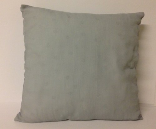 Calvin Klein White Label Crinkle Floral Decorative Pillow, Slate