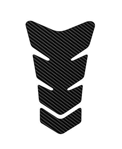 Fibre de carbone 3d Look Motercycle Sport R/éservoir /à gaz Pad de protection autocollant ajustement universel 1/pi/èce.