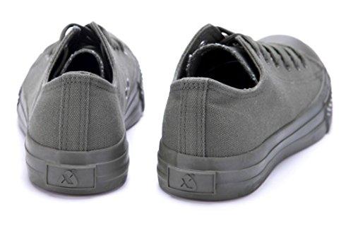 Schuhtempel24 Damen Schuhe Low Sneaker Flach Grün