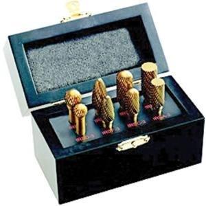 8 Piece Titanium Burr Set in Case by INGERSOLL RAND CO [並行輸入品] B0184XTDUM