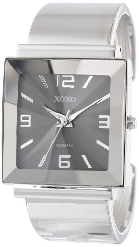- XOXO Women's XO1094 Silver-Tone Bangle Watch