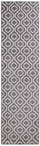 - (3' x 10' Runner Rug) Diagona Designs Contemporary Moroccan Trellis Geometric Design Runner Area Rug, 31
