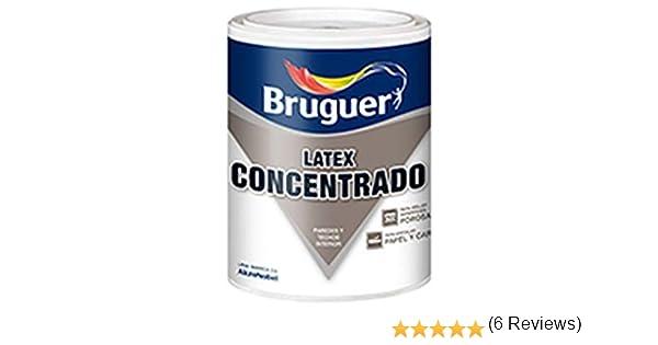 BRUGUER - Latex Concentrado Blanco Bruguer 750 Ml: Amazon.es: Bricolaje y herramientas