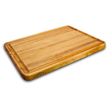 Catskill Craftsmen 24 Inch Pro Series Reversible Cutting Board with Groove