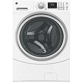 GE GFWN1600JWW 27' Energy Star Rated Front Load Washer with 4.3 cu. ft. Capacity in White