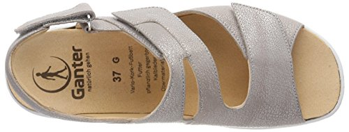 Ganter Heels Sandals Women's Sterling 7400 g Gritt Silver 4qwrazO4