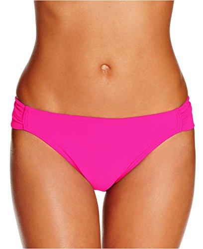 Hula Honey Side-Tab Hipster Bikini Bottom Women's Swimsuit pink s