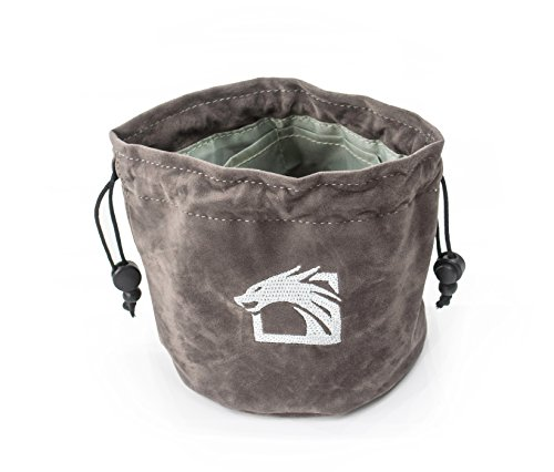 Dragons Play Gray Dice Bag