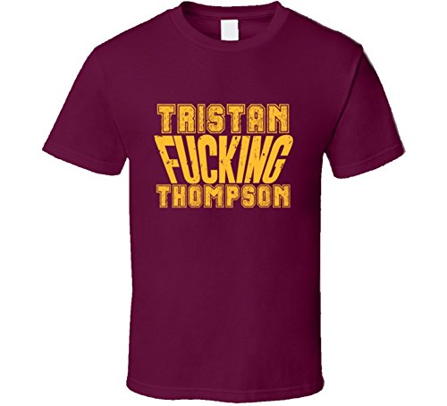 Fcking Tristan Thompson Funny Player Cleveland Basketball T Shirt M Burgundy