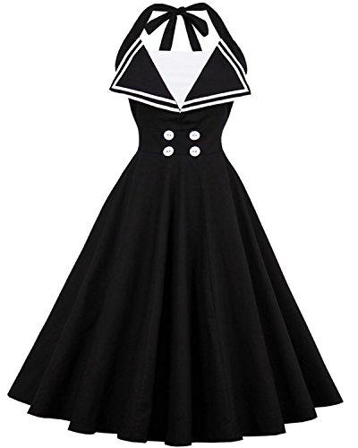 50s halter dress - 7