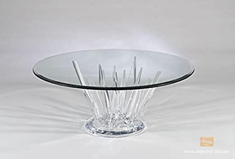 Shahrooz Crystals All Clear Coffee Table