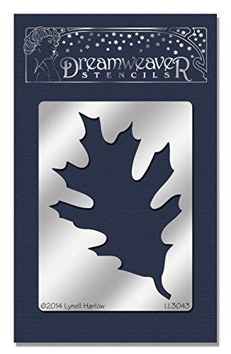 Stampendous Dreamweaver Metal Stencil, Oak (Oak Leaves)