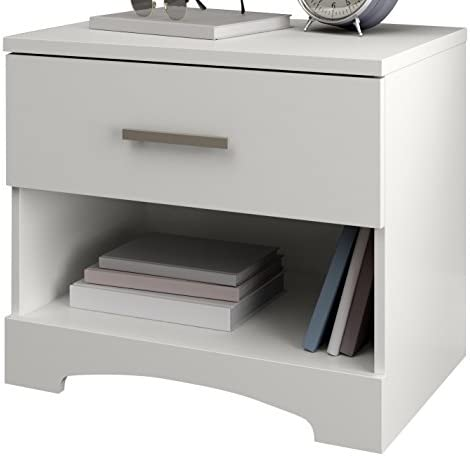 South Shore Gramercy 1-Drawer Nightstand