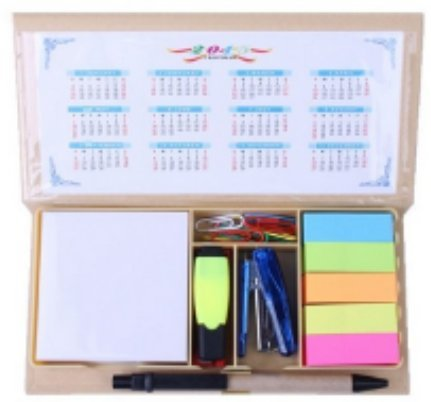 combo-school-supplies-bundle-pack-includes-pen-notes-flags-stapler-sharpener-eraser-mini-highlighter