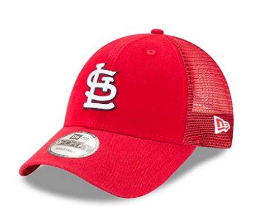 New Era MLB St. Louis Cardinals Trucker 9Forty Adjustable Baseball Hat ()