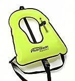 Phantom Aquatics Snorkel Adult Vest, Yellow