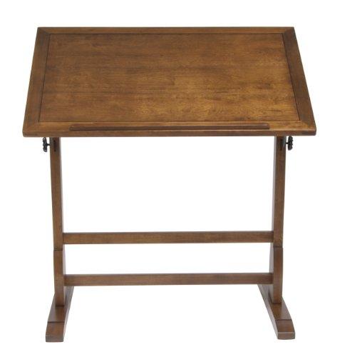 Studio Designs 36 X 24-Inch Vintage Drafting Table, Rustic Oak by Studio Designs