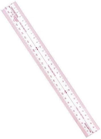 "C-Thru B-80 Beveled Edge Plastic Ruler 1/"" X 15/"""