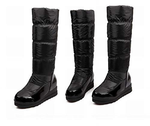 Sci Sci Anti Invernali Invernali Stivali CLLCR Donna Nero Stivali da da Stivali 34 Cavaliere con Caldi 40 Stivali Rialzo dwIxxX0f