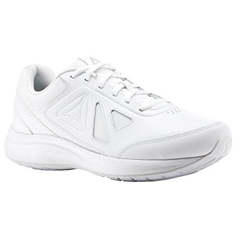 Reebok Donna Walk Ultra 6 Dmx Max D Sneaker Bianco / Acciaio - Largo D