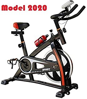 Gelusa Bicicleta de Spinning E30-18 Kilos: Amazon.es: Deportes y ...