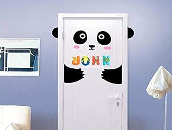 Wooden Jungle Animal Alphabet Letters Personalised Bedroom Wall Door Name S