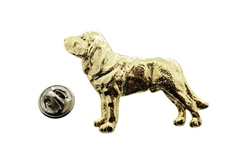 Bloodhound Pin (Bloodhound Pin ~ 24K Gold ~ Lapel Pin ~ Sarah's Treats & Treasures)