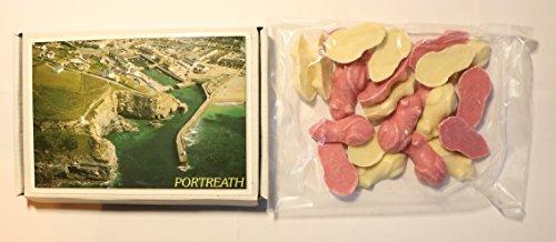 Ye Old Cornish Portreath Pink & White Chocolate Mice English