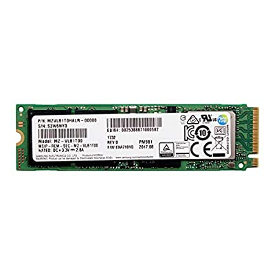 Samsung PM981 Polaris 1TB M.2 NGFF PCIe Gen3 x4, NVME Solid state drive SSD, OEM (2280) MZVLB1T0HALR-00000 from Semiconductor Samsung