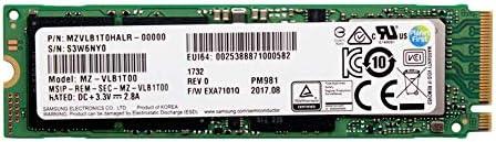 Samsung PM981 Polaris 1TB M.2 NGFF PCIe Gen3 x4 OEM MZVLB1T0HALR-00000 NVME Solid state drive SSD 2280