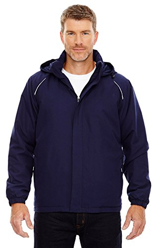 (Core 365 Men's Tall Brisk Insulated Jacket, 3XT, Classic Navy 849)