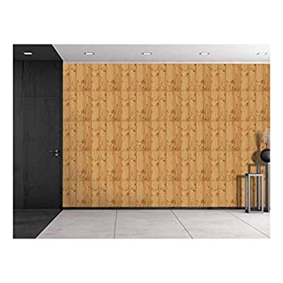 Amazing Portrait, Large Wall Mural Seamless Wood Floor Pattern Vinyl Wallpaper Removable Decorating, Created Just For You