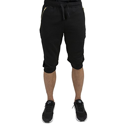 [Vibes Gold Men Black French Terry 18