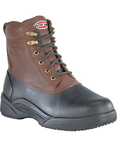 Iron Age Men's IA9650 Compound Industrial and Construction Shoe, Black/Brown, 12 W US by Iron Age