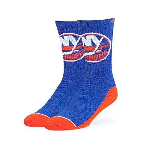 NHL New York Islanders OTS Anthem Sport Sock, Royal, Large (New York Islanders Fan)