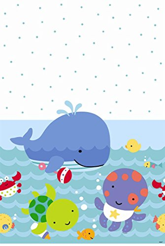 Under the Sea Plastic Tablecloth, 84