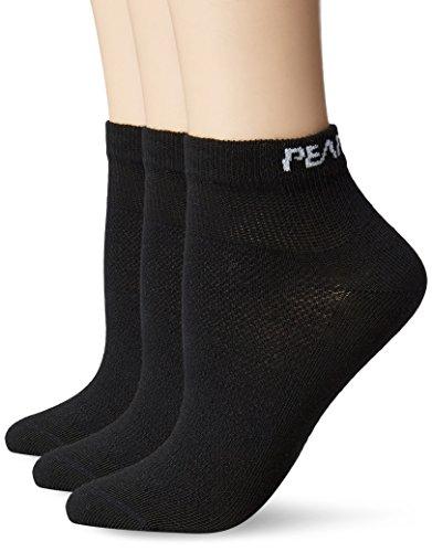 Pearl iZUMi Women's Attack Low Socks (3 Pack), Black, Small ()