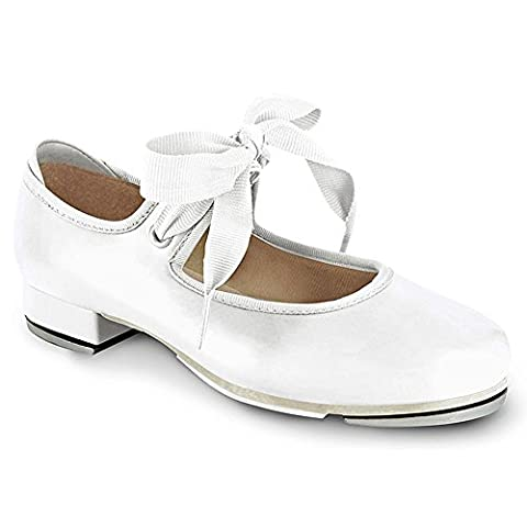 Bloch Dance Annie Tyette Tap Shoe (Toddler/Little Kid/Big Kid),White,11.5 M US Little Kid