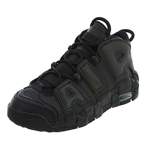 NIKE Air More Uptempo SE GS Basketball Trainer 922845 Sneakers Schuhe Black/Black-wolf-grey