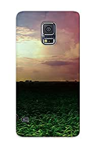 Awesome Case Cover/galaxy S5 Defender Case Cover(wrecked Car In The Field ) Gift For Christmas