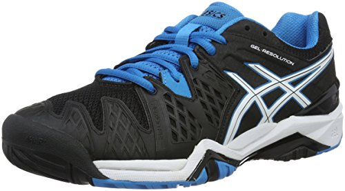 Jewel Gel Scarpe 6 Black da White Ginnastica Nero Resolution Asics Blue Uomo BqFxRFvw