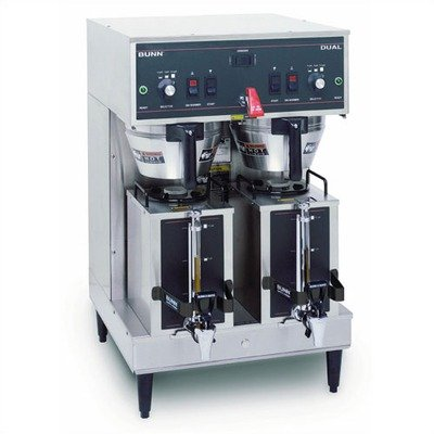 Dual Satellite Brewer with 1.5 Gallon Servers - 120/208V/30 amp (Gallon 1.5 Satellite Server)