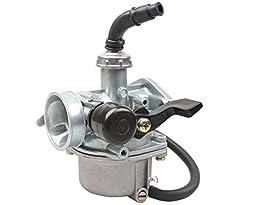 19mm Carburetor w/Right Hand Choke for 110cc ATV, Dirt Bike Go Kart