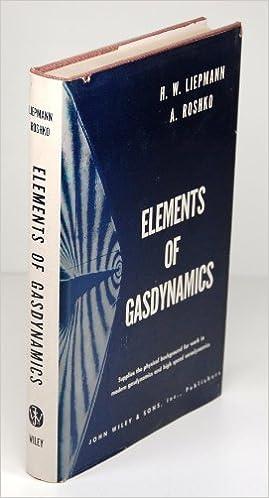 Elements of Gasdynamics.
