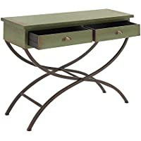 Deco 79 92327 Metal Wood Console Table, 43 x 33