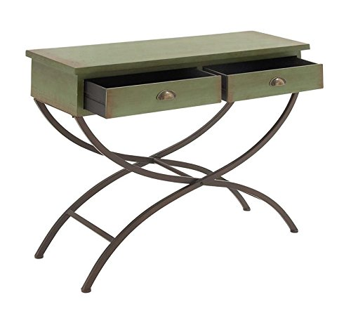 Deco-79-92327-Metal-Wood-Console-Table-43-x-33